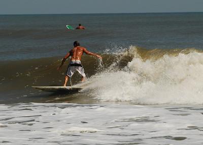 08 Surfer at Flagler Beach