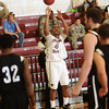 Jermaine Jackson shoots for Florida Tech during the second half against Trinity Baptist. (Photo by Amanda Stratford, for FLORIDA TODAY)