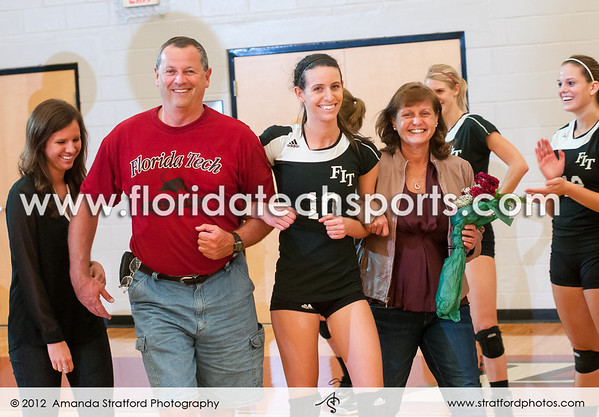 Volleyball vs. Nova Southeastern October 27, 2012