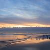 Beautiful sunrise, Daytona Beach.