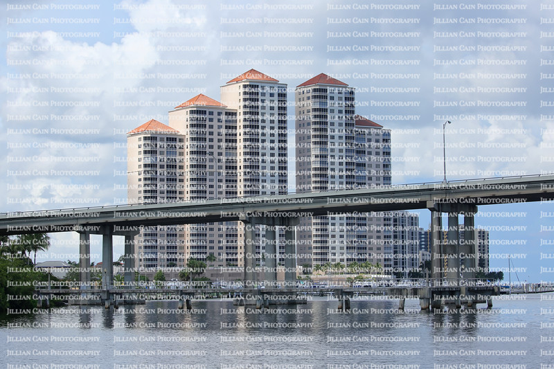 Downtown Fort Myers's River District skyline.