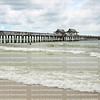 The Naples Beach & Fishing Pier is one of the most popular attractions in Naples, Florida, USA.