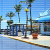 Trolley Bus Stop, Fort Myers Beach, FL, USA
