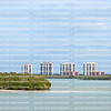 Waterfront condominiums and timeshares on Estero Island, Florida, USA.