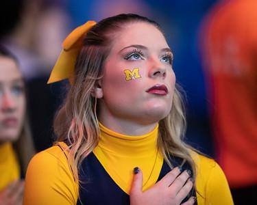 Michigan cheerleader