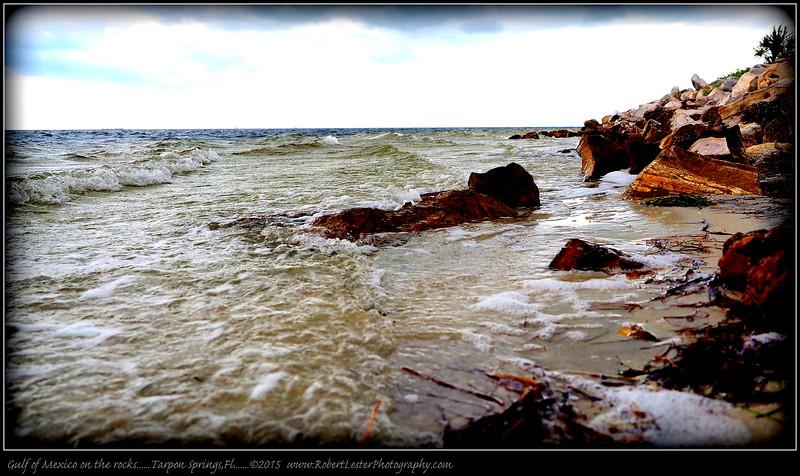 2015-09-15_P9150012_Gulf of Mexico on the rocks,Tarpon Springs,Fl