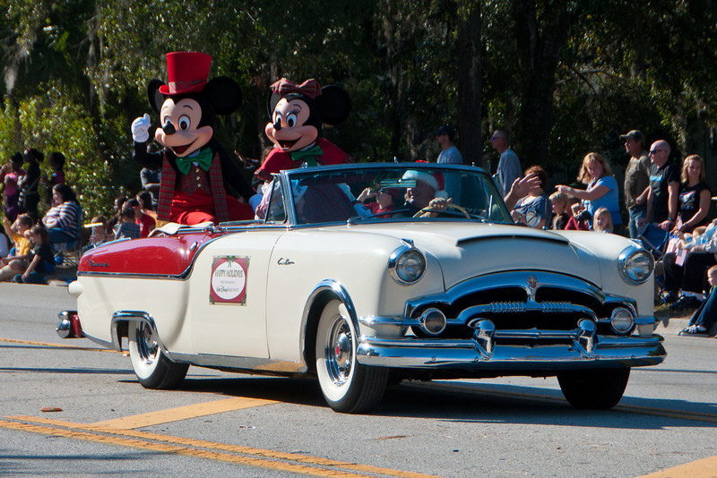 Disney Worlds entry in the 2011 Apopka Christmas Parade 12/10/11