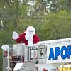 Apopka Fire with Santa in the 2011 Apopka Christmas Parade 12/10/11