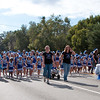 Apopka Pop Warner Cheerleaders in the 2011 Apopka Christmas Parade 12/10/11