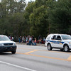 Apopka PD K-9 ending the 2011 Apopka Christmas Parade 12/10/11