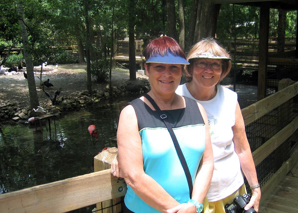 Sharon Hanes and Susan