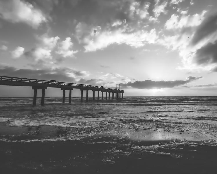 St. Johns County Pier in Anastasia Island Florida