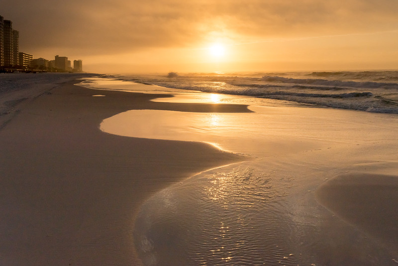 Golden Sunrise  Destin, Florida