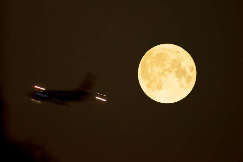 Flying to the Perigree Moon
