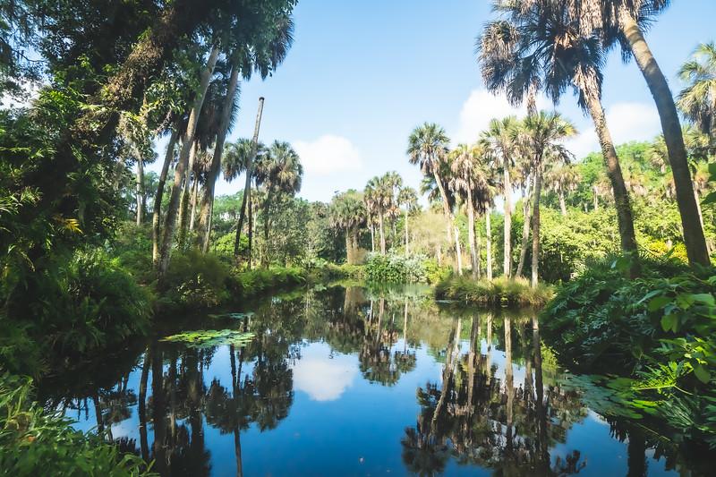 Bok Tower Gardens National Historic Landmark in Lake Wales Florida