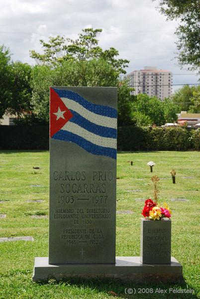 Pio Socarrás tomb (ex-president of Cuba)