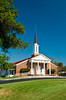 The Church of Christ near Cocoa Beach, Florida, USA.