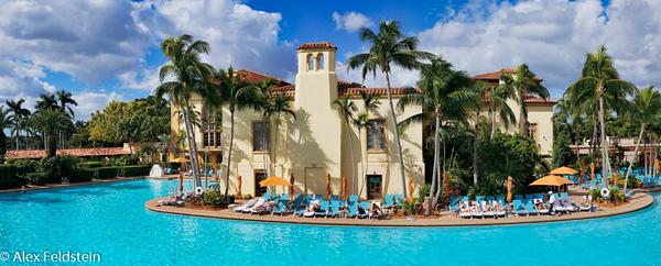 Biltmore hotel pool (pano)