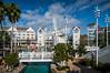 The Disney Beachclub Resort in Lake Buena Vista, Florida, USA.