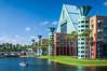 The Dolphin Resort Hotel in Disney's Lake Buena Vista, Florida, USA.