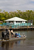 Everglades swamp airboat in Everglades City, Florida, USA.