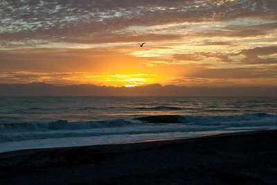 Sunrise at Indialantic Beach