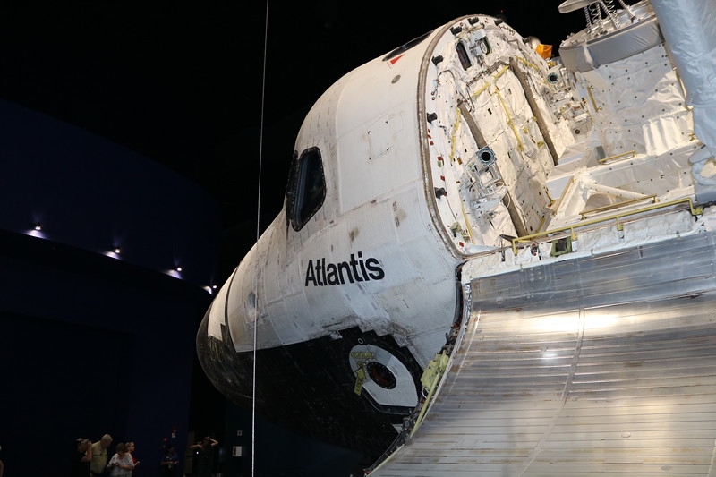 Atlantis Space Shuttle Command Module