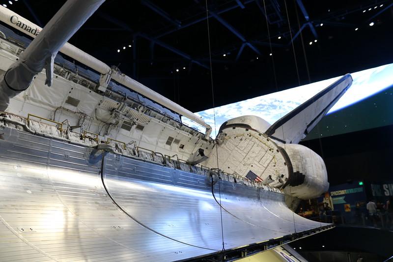 Atlantis Space Shuttle Side View