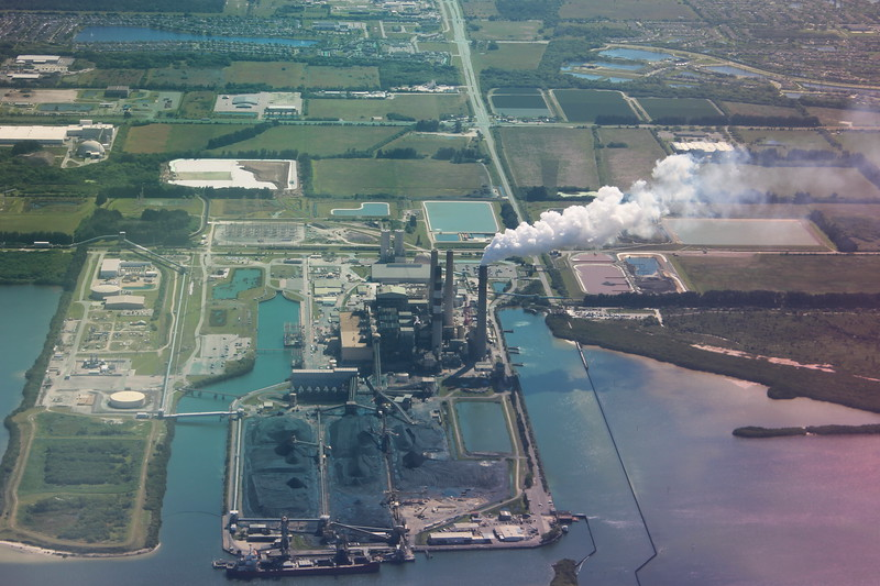 Aerial View of Industry