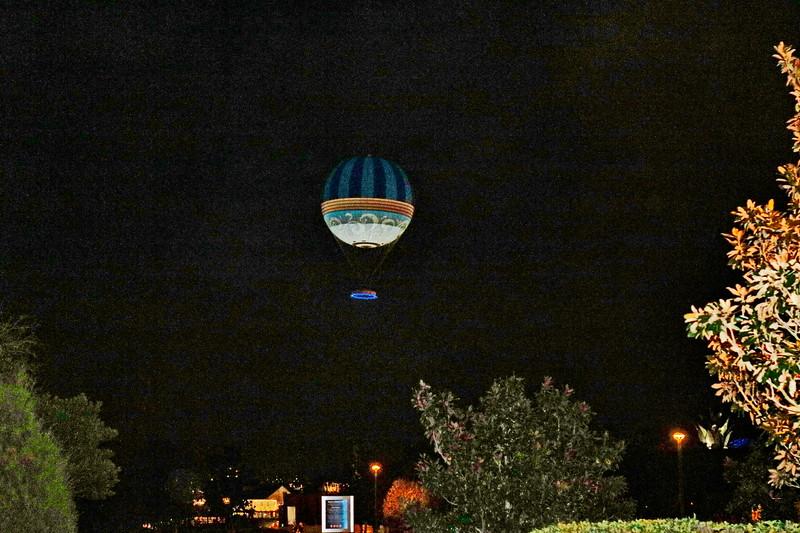 Hot Air Balloon Ascent