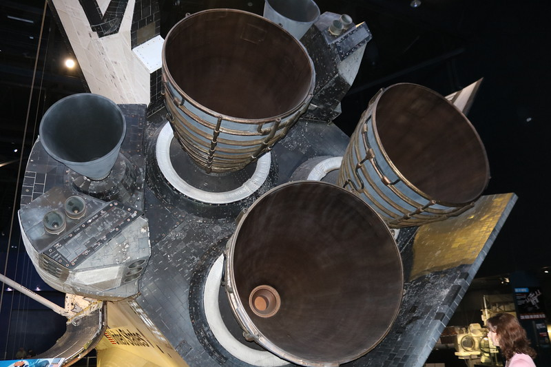 Atlantis Space Shuttle Rocket Engines