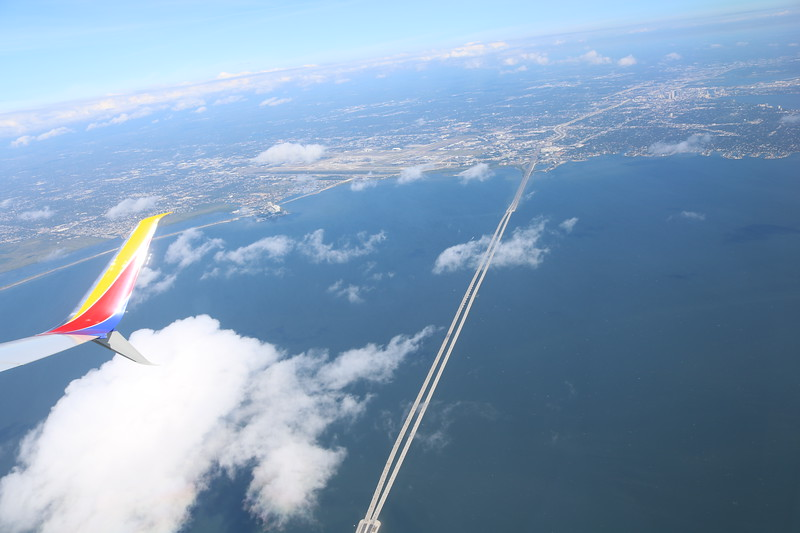Aerial View of Howard Frankland Bridge