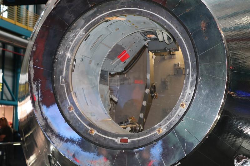 Apollo 11 Command Module Interior