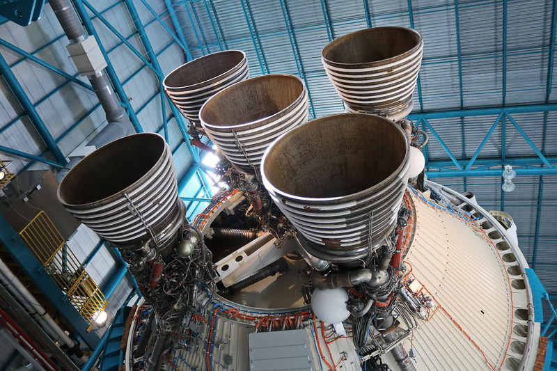 Apollo 11 Launch Vehicle Rocket Engines