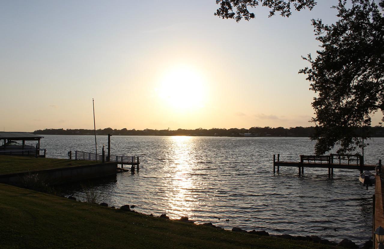Sunset on the Sebastian River