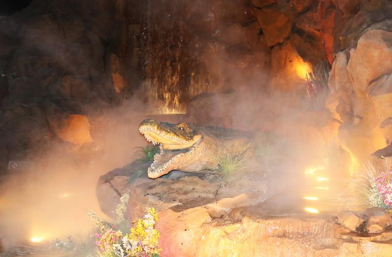 Fake Alligator Exhibit
