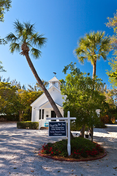 The Chapel by the Sea on Captiva Island, Florida, USA.
