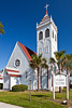 St. Marks Episcopal church in Palatka, Florida, USA.