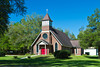 The All Saints Anglican church near Palatka, Florida, USA.