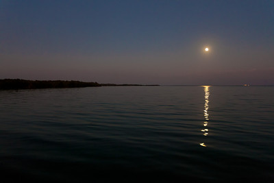 Key Largo moonrise