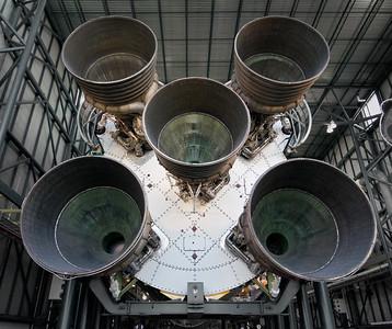 Saturn V rocket nozzles