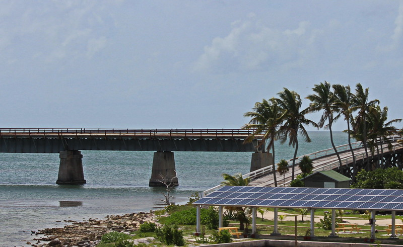 Old Overseas Highway and New Solar Panels
