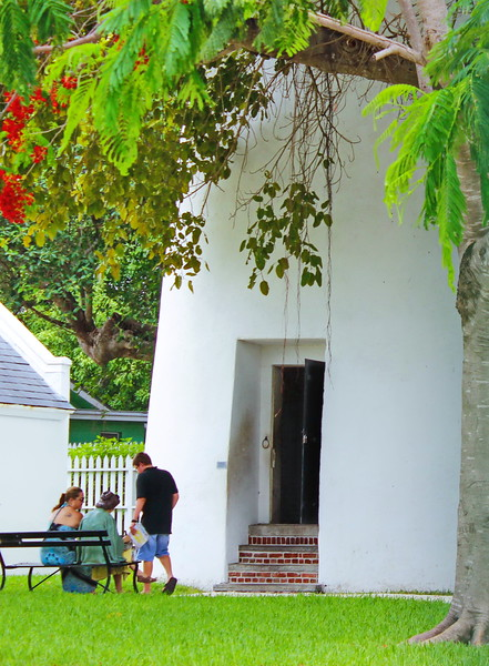 Key West Lighthouse Entrance