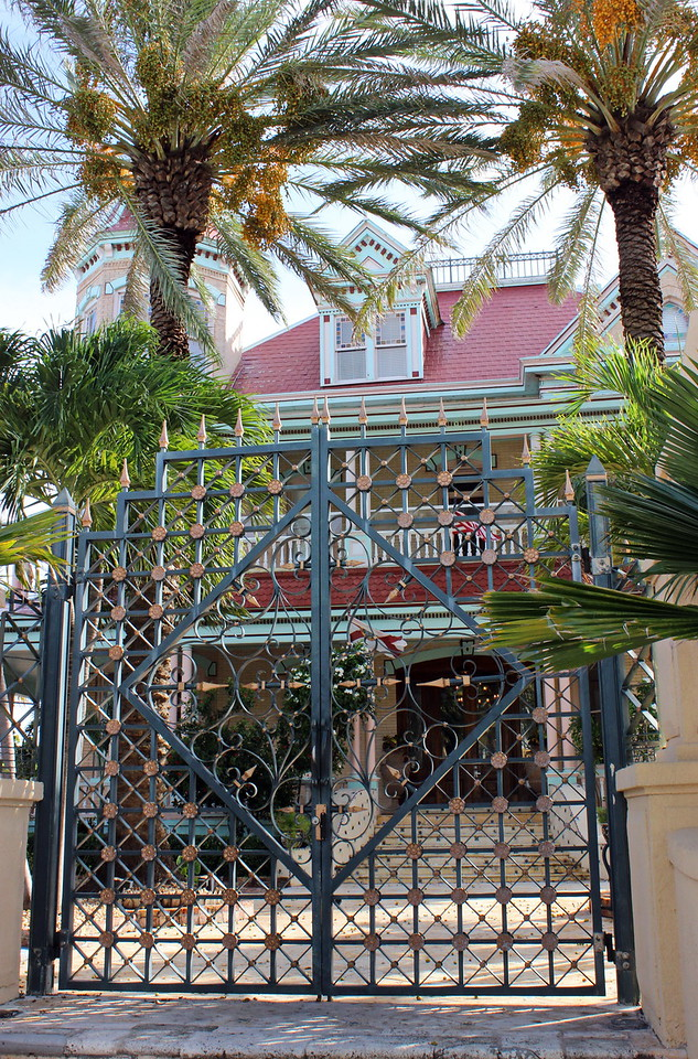 Southernmost House Entrance Gate