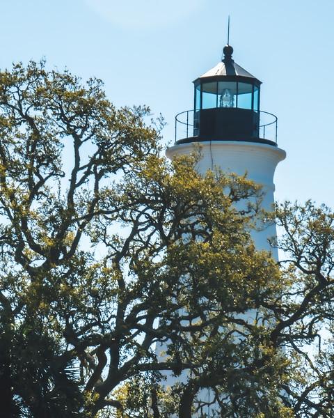St. Marks Lighthouse in St. Marks Florida