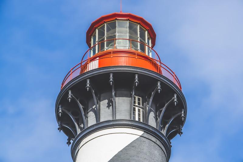 St. Augustine Lighthouse on Anastasia Island Florida