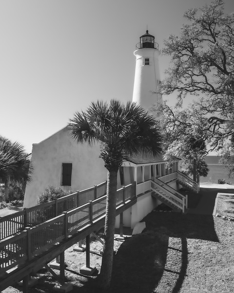 St. Marks Lighthouse in St. Marks Florida