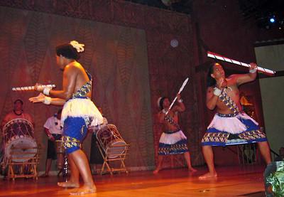 Hawaiian Luau Show at Sea World, Orlando, FL