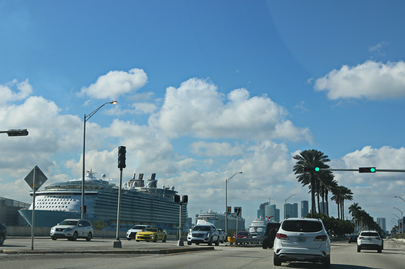Cruise Ships in the Port of Miami