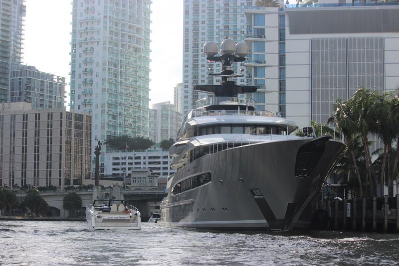 Cruising the Miami River
